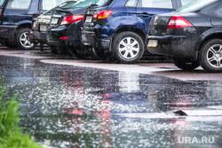 Дождь и солнце. Санкт-Петербург., лужа, парковка, дождь