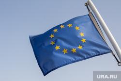 Клипарт. Греция. Крит, флаг евросоюза