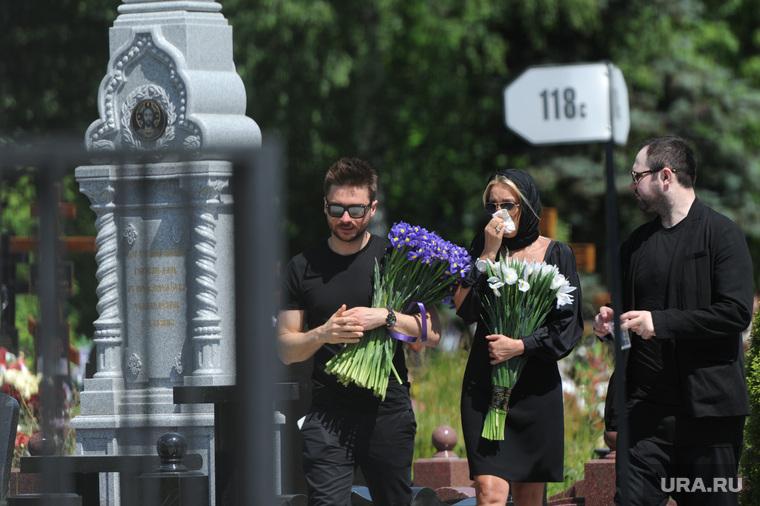 Похороны Жанны Фриске. Москва, лазарев сергей