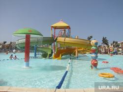 Египет, отдых туристов, аквапарк