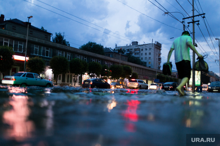 Последствия ливня г. Екатеринбург, потоп, ливень, дождь