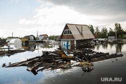 Наводнение. Нижневартовск, доски, наводнение, потоп