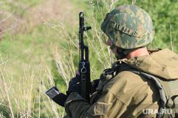 Солдаты, армия. Челябинск., боец, автомат, армия, оружие