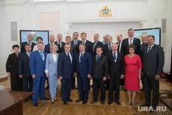Пресс-подход после заседания мэров УрФО в администрации Екатеринбурга