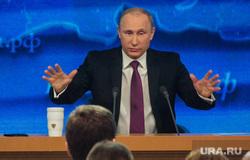 Путин. Пресс-конференция. Москва. Часть II, разводит руками, путин владимир