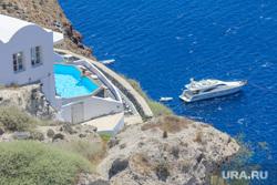 Санторини. Греция., отдых, море, отпуск, бассейн, яхта