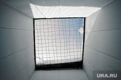 Музей тюрьмы.  Пермь-36, камера, колючая проволока, зона, колония, заключение, решетка, лагерь