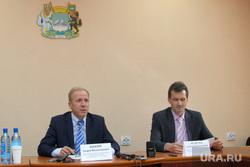 Пресс-конференция по капремонту Курган, жижин андрей, медведев александр