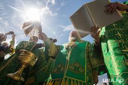 Закладка храма и Крестный ход. Сургут, вера, крестный ход, служба, религия