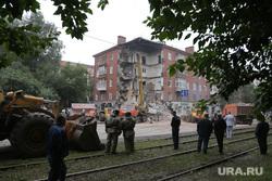 Пермь. Обрушение жилого дома., обрушение дома