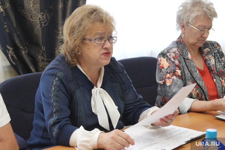 Заседание избиркома области  Курган, гулькевич светлана