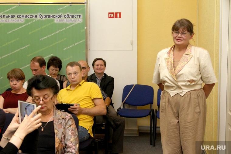 Заседание избиркома области  Курган, иванова марина, партия возрождения россии