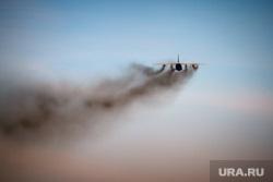 Очередной споттинг в Кольцово. Екатеринбург, дым, самолет