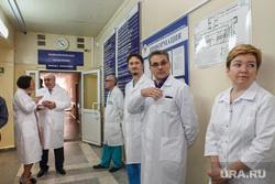 Евгений Куйвашев посетил ОКБ №1. Екатеринбург, белявский аркадий, врачи, белые халаты, медики