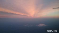 Клипарт, закат, небо
