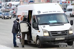 Маршрутки. Челябинск., маршрутка, общественный транспорт