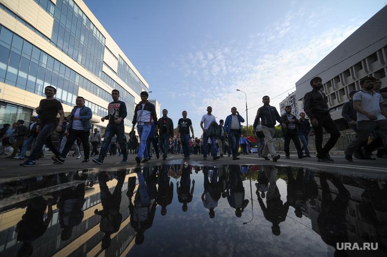 Мусульмане празднуют Ураза-байрам. Москва