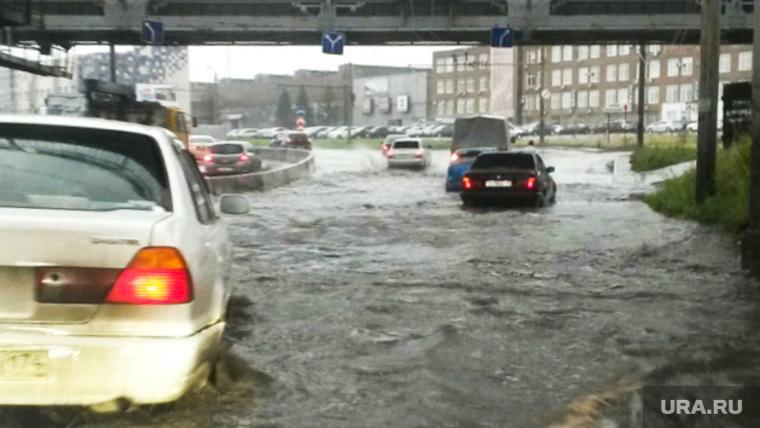 Ливень. Челябинск., потоп, ливень