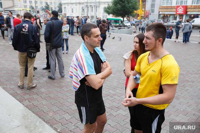Карла Либкнехта 22 заминировано. Екатеринбург