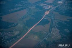 Крым., трасса, вид из самолета