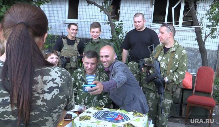 День рождения Гиви, Грэм Филлипс, захарченко александр