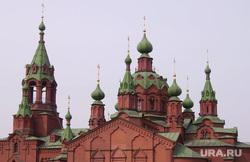 Обвал балкона. Челябинск, храм, алое поле