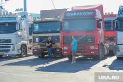 Санторини. Греция., фуры, грузовики