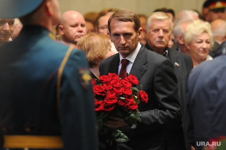 Прощание с Геннадием Селезневым. Москва, нарышкин сергей