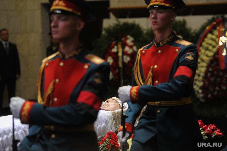 Прощание с Геннадием Селезневым. Москва