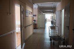 Артинская центральная районная больница. Арти, коридор больницы, больница