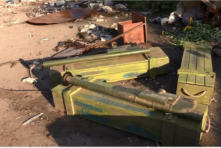 Оружие США в аэропорту Луганска, оружие США, Луганск аэропорт