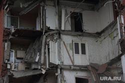 Обрушение дома Куйбышева 103. Пермь, руины