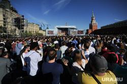 Концерт по случаю Дня России на Красной площади. Москва, концерт, толпа