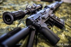 Евгений Куйвашев в Хомутовке., автомат, оружие, снайпер