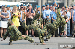 День десантника. Челябинск., вдв, десантники, показательные выступления