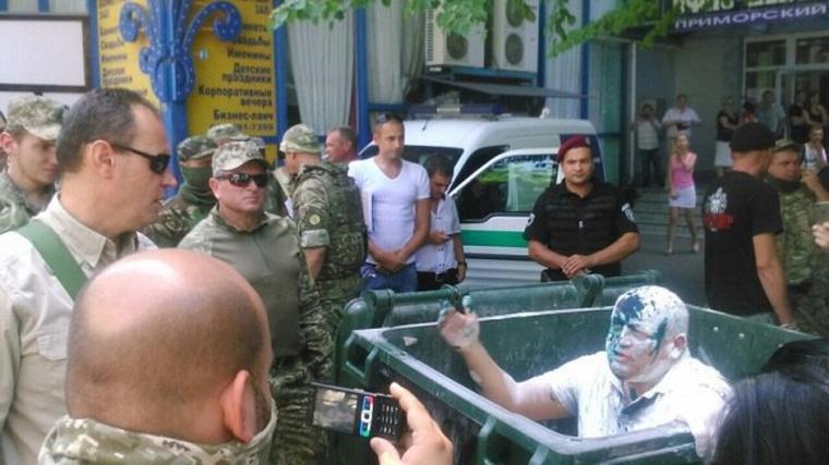 Мусорная люстрация в Одессе, одесса, косьмин алексей, мусорная люстрация