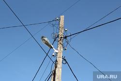 КЧС. Шумиха (Курганская область), лэп, провода, электричество, фонарь