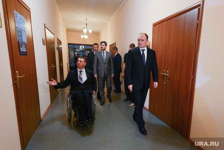 Доступная среда Дубровскому. Челябинск., инвалид, дубровский борис
