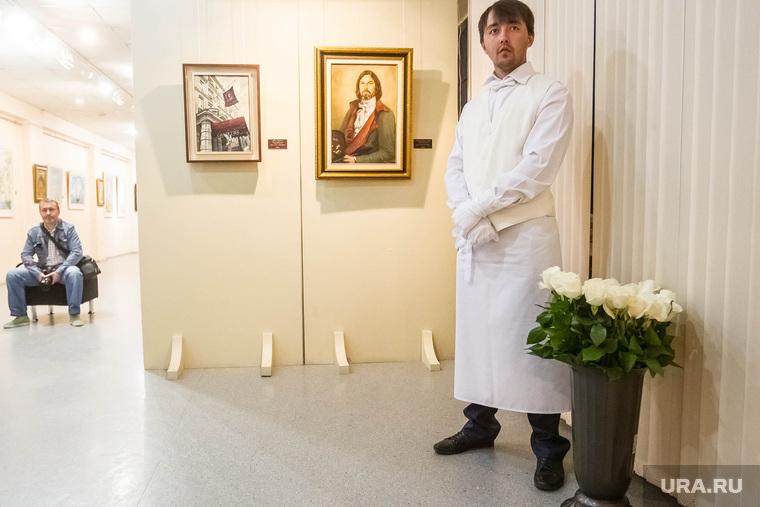 Выставка Никаса Сафронова. Тюмень