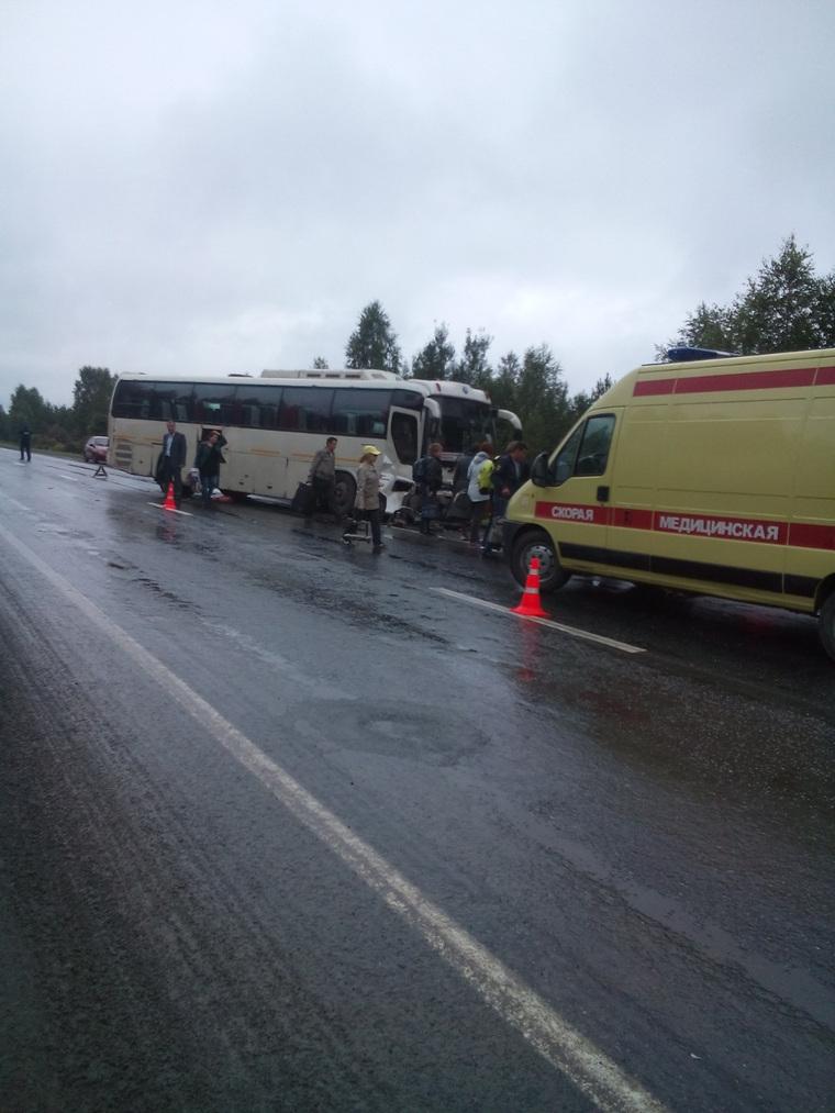 ДТП на Тюменской трассе