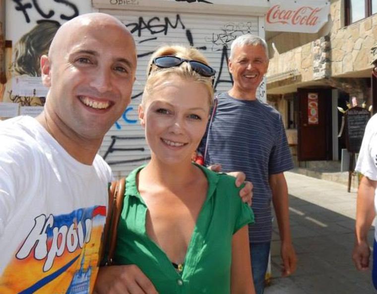Грэм Филлипс в Крыму, крым, филлипс грэм, ялта, киевлянка