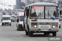 Маршрутки. Челябинск., автобус