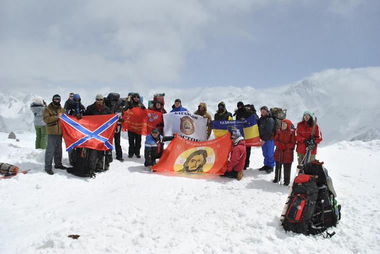 Донецкие альпнисты, эльбрус, донецкие альпнисты