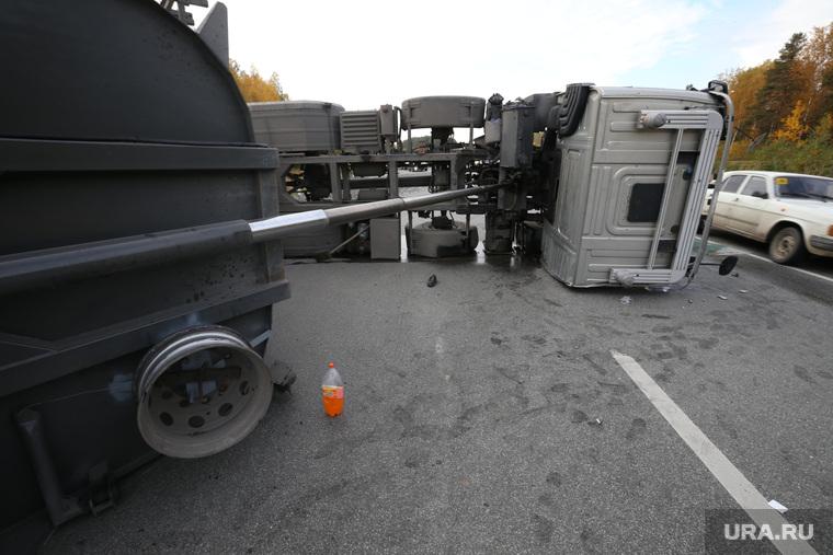 Авария на Серовском тракте. Выезд с Невьянска