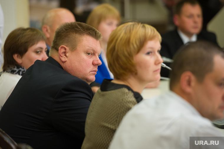 Заседание в резиденции губернатора Свердловской области по итогам единого дня голосования. Екатеринбург