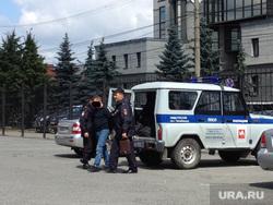 Полиция. Задержанный. Челябинск.
