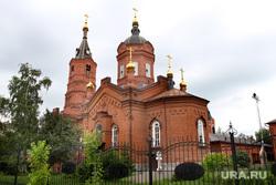 Здания  Курган, кафедральный собор александра невского, улица володарского42