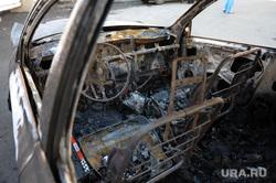 Машина сгорела. Пожар. Екатеринбург., машина, пожар, авто, киа