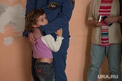 Виктор Шептий в лагере беженцев. Каменск-Уральский