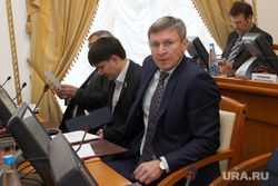 Вручение депутатских мандатов в облдуме Курган, фролов дмитрий